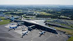 Aéroport Brest Bretagne (crédit photo : ABB / Franck Bétermin)