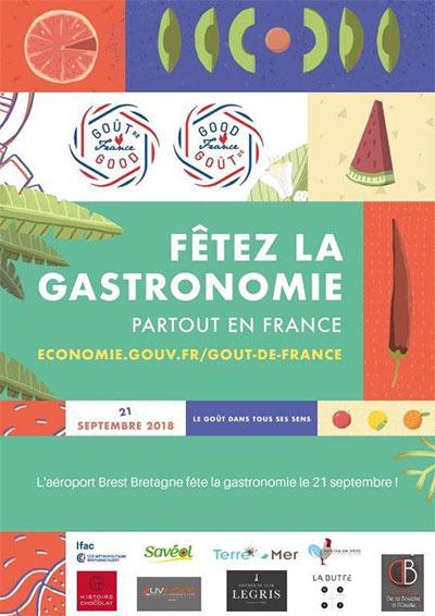 L'aéroport Brest Bretagne fête la gastronomie vendredi 21 septembre