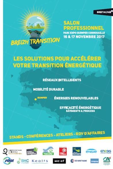 Breizh Transition : les 16 et 17 novembre 2017 à Quimper