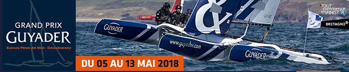 Grand Prix Guyader : du 5 au 13 mai à Douarnenez