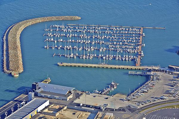 Port de plaisance Roscoff Bloscon (crédit photo : GPO)