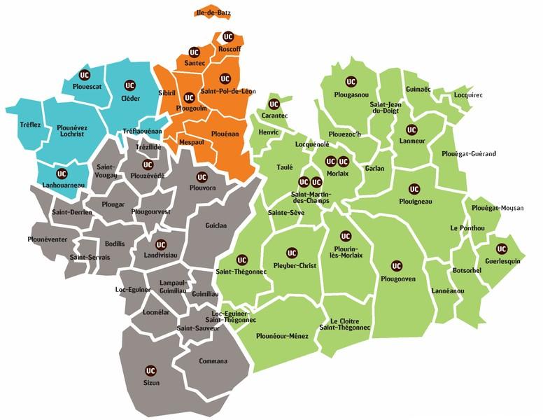 Territoire du Pays de Morlaix - Chèques 100 % Haut Finistère
