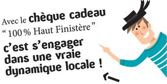 Chèques cadeaux 100 % Haut Finistère