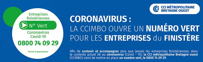 Coronavirus : la ccimbo met en place un numéro vert