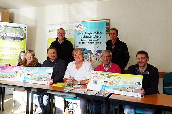 Lancement du chèque culture 100 % Haut Finistère (credit photo : B. Kermarec / CCIMBO Morlaix)