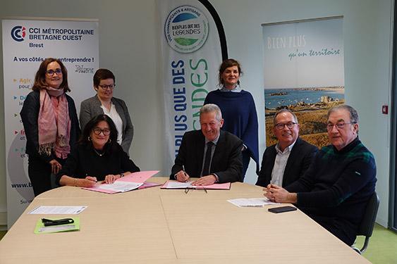 CLCL et CCIMBO Brest partenaires pour œuvrer en faveur du développement économique et de l'emploi