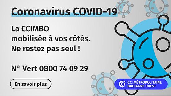 Coronavirus : la CCIMBO mobilisée à vos côtés !