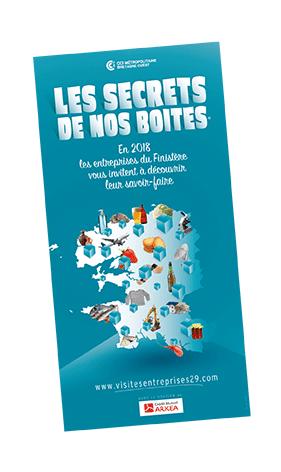 """Guide """"Les secrets de nos boîtes"""" Finistère - 2018"""