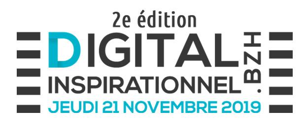 2ème édition du Digital inspirationnel le 21 novembre 2019 à Quimper