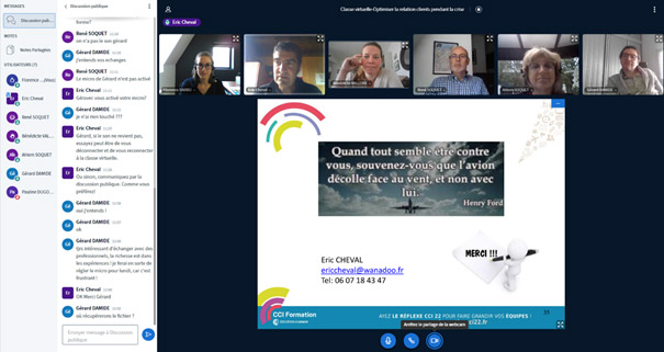 Un beau succès pour la première formation digitale organisée en inter-entreprise par les CCI de Bretagne.