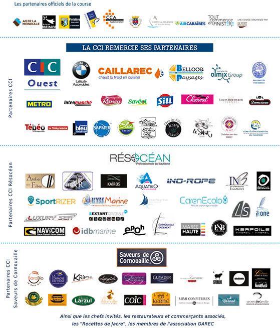Les partenaires de la Transat AG2R La Mondiale 2018