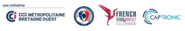 Logos des partenaires réunions cybersécurité