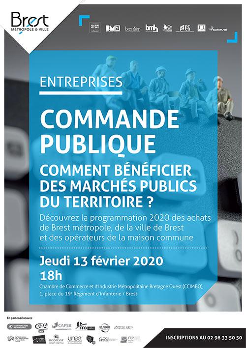 Comment bénéficier des marchés publics du territoire ? rdv le 13 février 2020 à la CCIMBO Brest