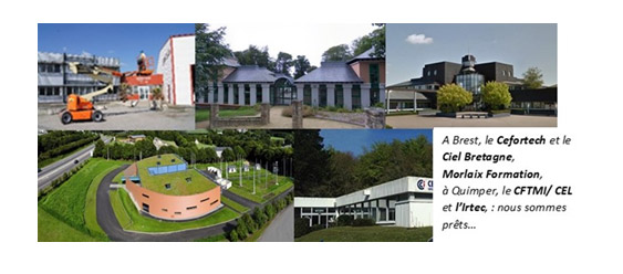 Déconfinement : réouverture des centres de formation continue de la CCIMBO le 11 mai