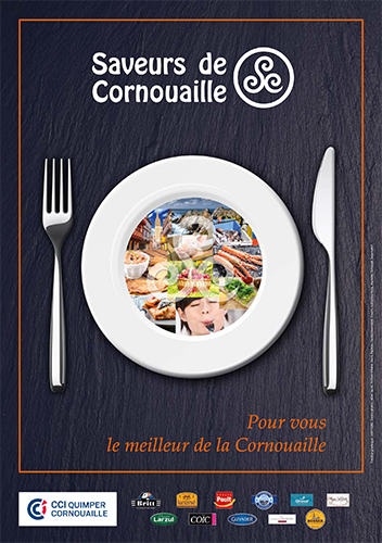 Affiche Saveurs de Cornouaille