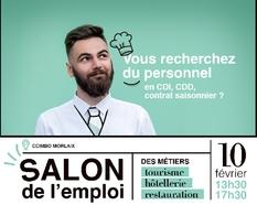 Salon de l'emploi des métiers du tourisme, de l'hôtellerie, de la restauration : le 25 février 2019