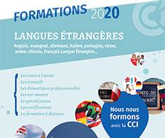 CCIMBO : catalogue des formations Langues étrangères 2019 - 2020