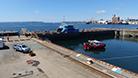bateau-porte forme 3 port de Brest