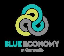 Logo Blue Economy en Cornouaille