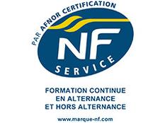 Certification NF Service Formation des 7 sites de la CCIMBO pour ses activités de formation continue en alternance et hors alternance