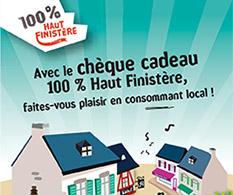 Chèque cadeau 100 % Haut Finistère