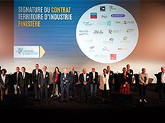 Signature contrat - Territoire d'industrie
