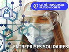 Entreprises solidaires : les entreprises de Cornouaille sollicitées pour lutter contre le Covid-19