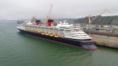 paquebot Disney Magic au port de Brest