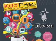 Kdo'Pass : le chèque-cadeau 100 % local