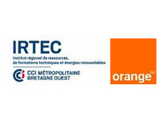 Signature d'une convention Orange et Irtec Quimper