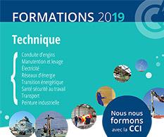 CCIMBO : catalogue des formations techniques 2019