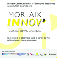 Matinée innovation Morlaix le 5 décembre 2018