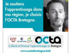 Taxe d'apprentissage 2019 : Octa Bretagne