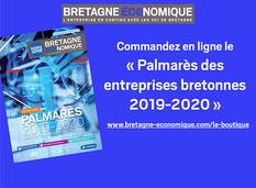 Le palmarès des entreprises bretonnes 2019-2020 est disponible !
