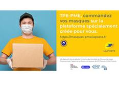 """Coronavirus : plate-forme de commercialisation et de distribution de masques """"grand public"""""""