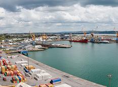 Port de commerce de Brest (crédit photo : CCIMBO Brest / G. Pachoutine)