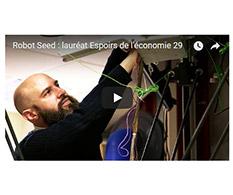 Espoirs de l'Economie 2017 : RobotSeed Brest
