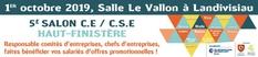 Salon CE et entreprises le 1er octobre 2019 à Landivisiau