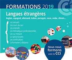 Catalogue des formations 2019 langues étrangères proposées par la CCIMBO à Brest, Morlaix et Quimper