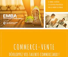 Formations Commerce-Vente de l'EMBA