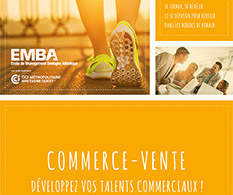Formations Commerce-Vente de l'EMBA