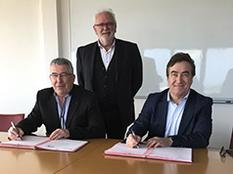 Signature d'une convention de partenariat entre la CCIMBO Morlaix et la CC de Haute Cornouaille