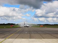 Vol inaugural Brest-Toulouse : Ryanair continue son développement à Brest
