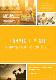 EMBA : plaquette formations commerce-vente 2019/2020