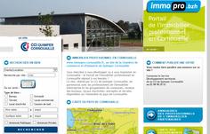 Immopro.bzh, toutes les offres d'immobilier d'entreprises en Cornouaille