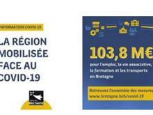 Coronavirus : La Région vote plus de 100 M€ d'aides exceptionnelles