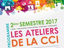 Les ateliers de la CCI : 2ème semestre 2017