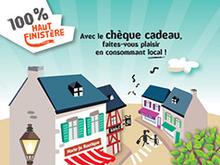 """Report de la durée de validité des chèques cadeaux et chèques culture """"100 % Haut Finistère"""" de la CCIMBO Morlaix"""