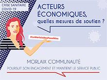 Coronavirus : Morlaix Communauté édite un guide pratique des mesures pour soutenir les acteurs économiques du territoire.