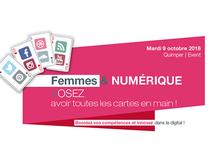 Femmes et numérique : le 9 octobre 2018 à la CCIMBO Quimper